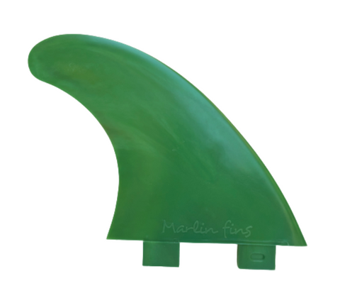 Marlin-Fins-Thruster-Fins-palm-green-Eco-Friendly-Surf-Shop-Sustainable-surfing-eco-surfing-recycled-fins-eco-fins-eco-friendly-surfboard-fins-thruster-fin-facing-right