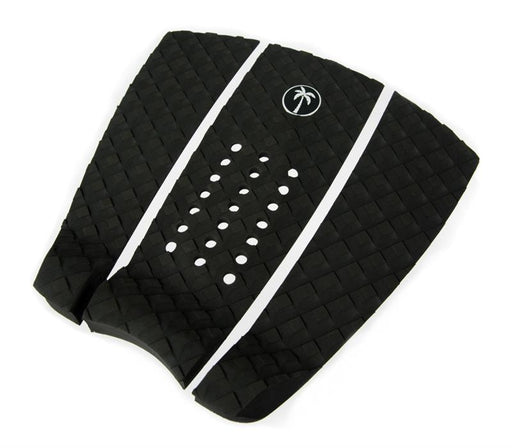Surf Organic Black Tail Pad with white logo - Eco Friendly Surf Shop