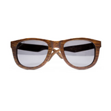 Desi by Woodhoy - Eco friendly wooden sunglasses - Eco Friendly Surf Shop - Bamboo Wood sunglasses Front on view