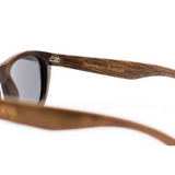 Desi by Woodhoy - Eco friendly wooden sunglasses - Eco Friendly Surf Shop - Bamboo Wood sunglasses Inside frame view