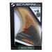 Eco Friendly Surf Shop - Eco Surf Gear - Eco sustainable surf gear - Scarfini Fins - SCARFINI - FX3 Futures Eco Fin - High Performance Thruster Fins in packaging