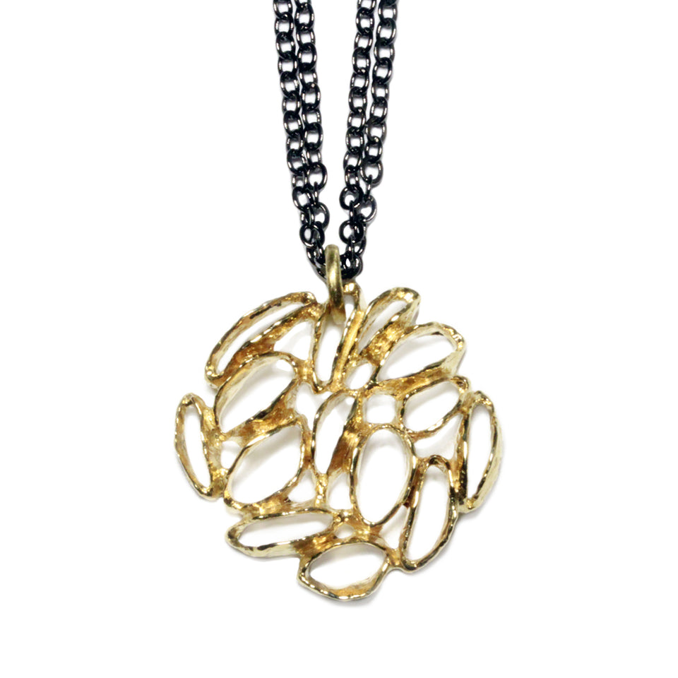 Banksia Medallion Necklace