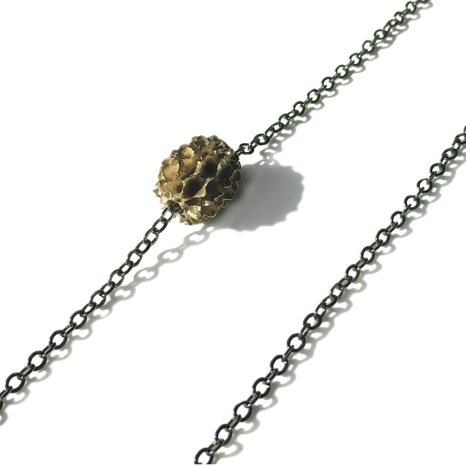 Ironwood Pod Necklace - Bronze or Silver