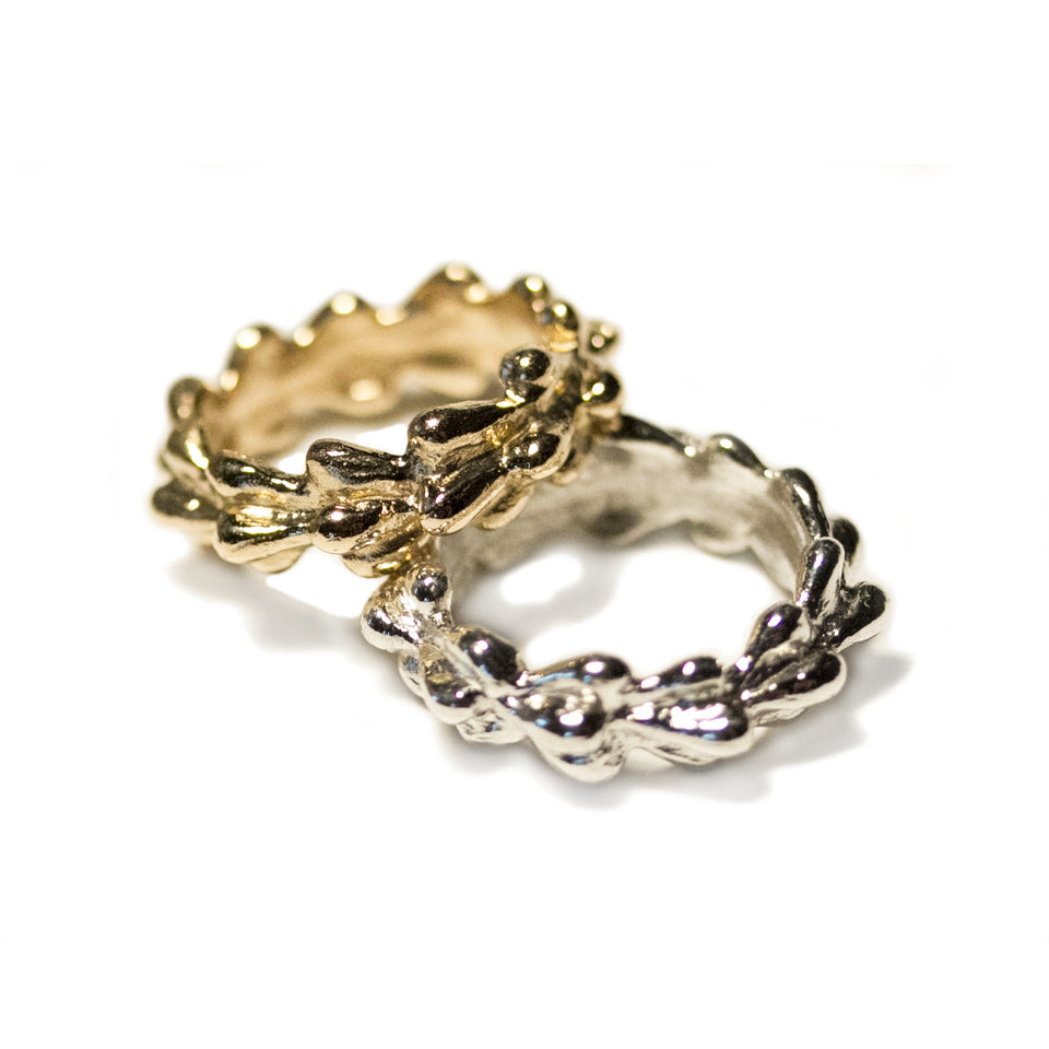Gold Willow Ring