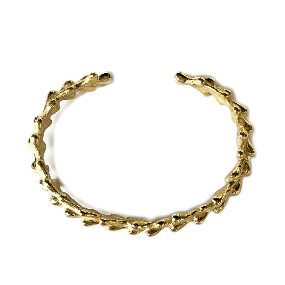 Willow Cuff - Brass