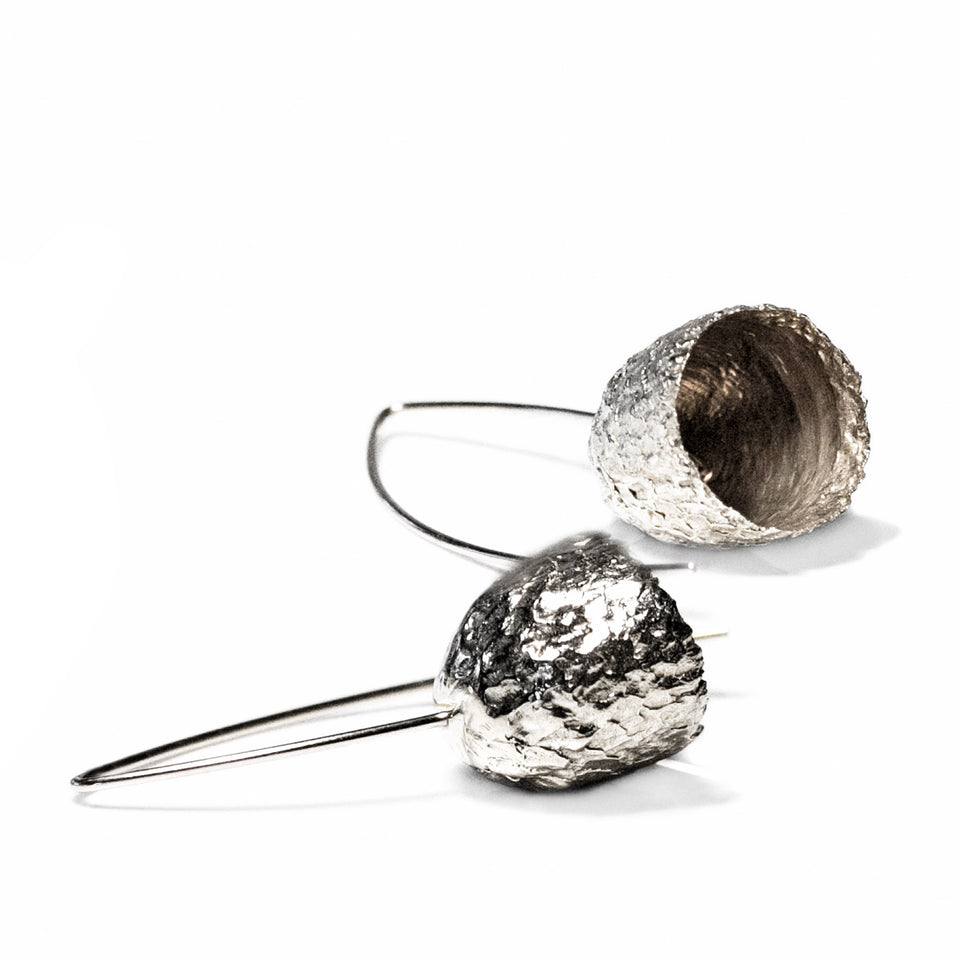 Capule Earrings - Silver