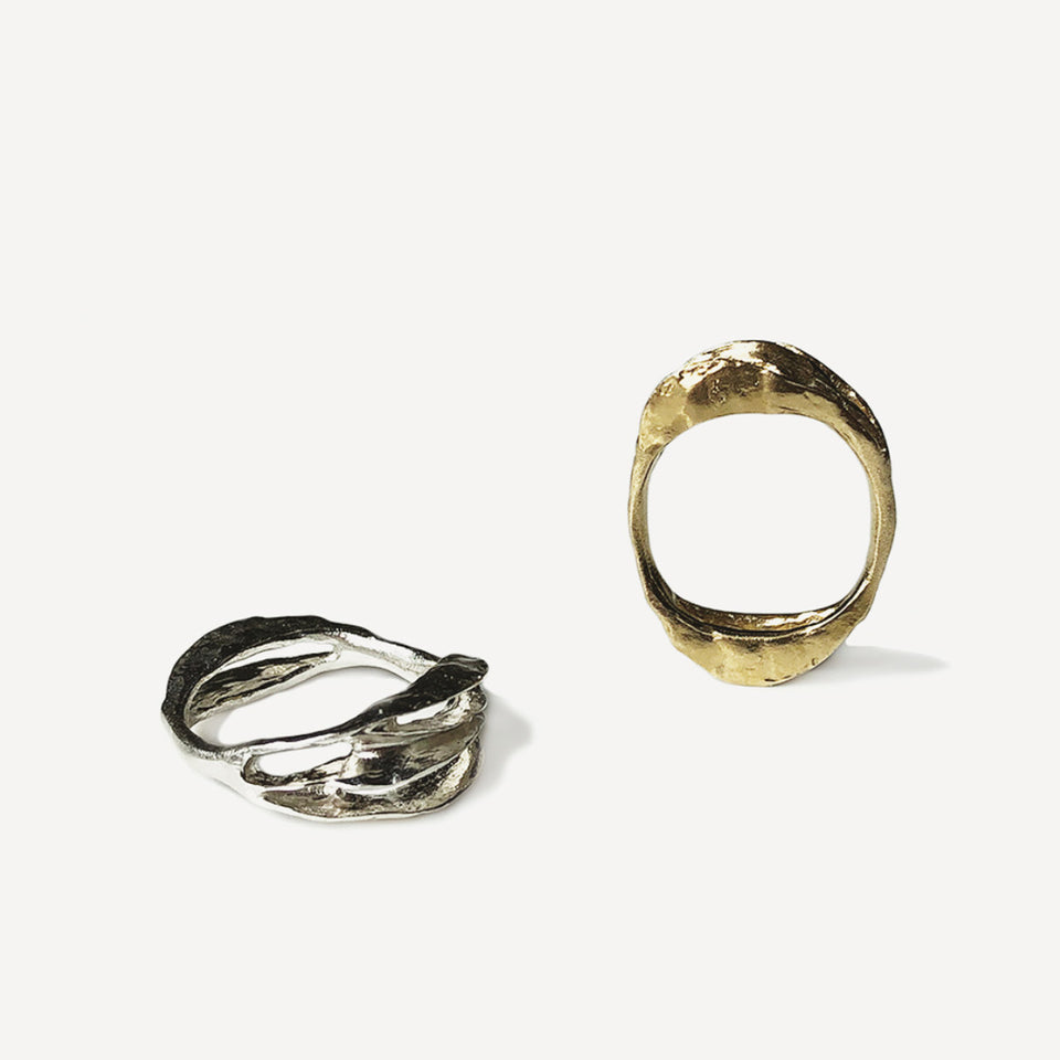 Perspectives Ring - Yellow Bronze
