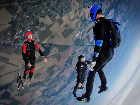 bachelor party sky diving