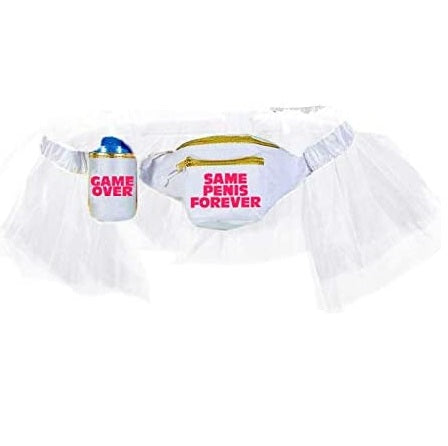 Gay Groom Tutu and Fanny Pack - Same Vagina Forever