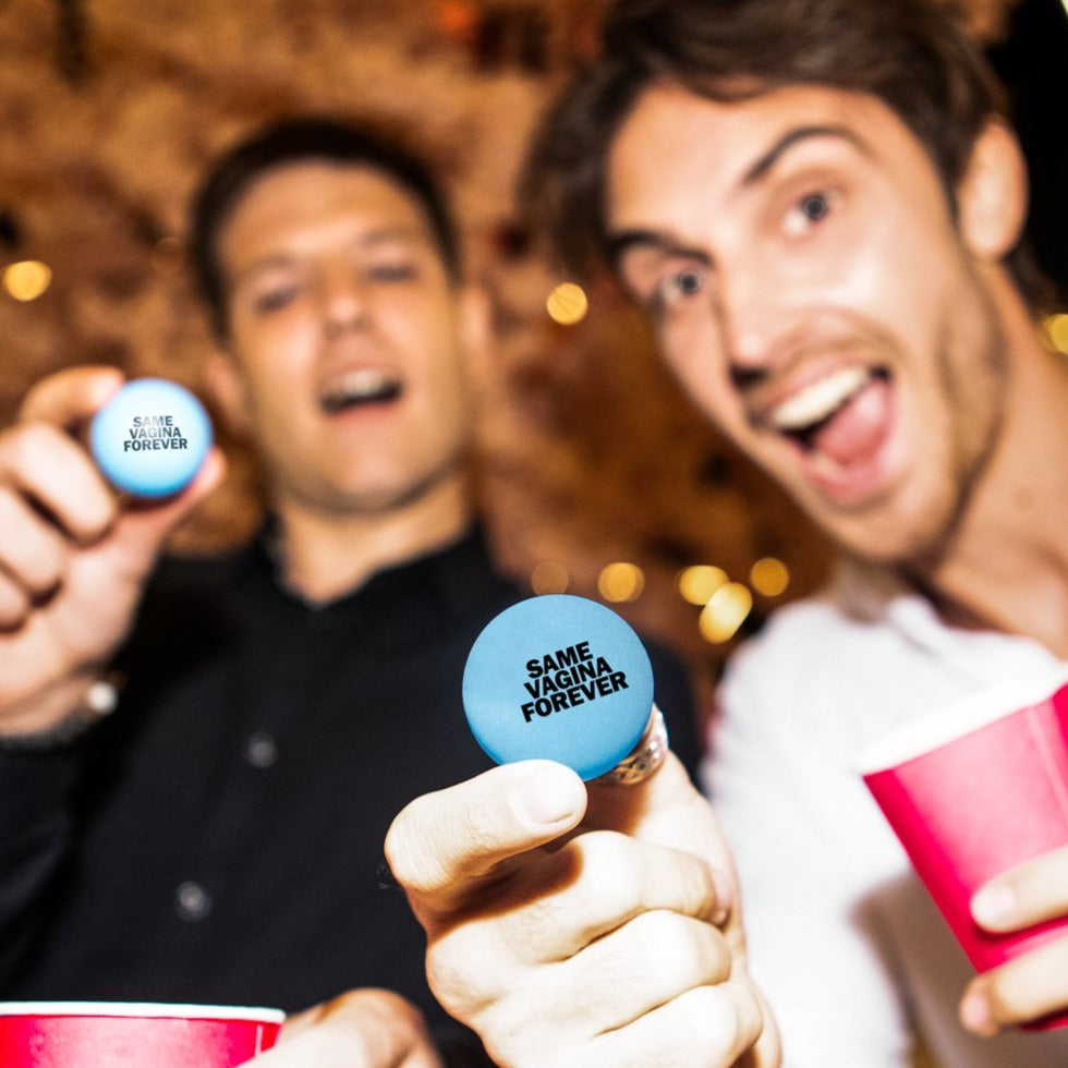 Bachelor Party Beer Pong Blue Balls – 6 Pack – Funny Stag Party Decorations, Ideas and Supplies