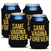 Bachelor Party Can Coolie (4 Pack) -Bachelor Party Supplies, Ideas, Decorations, Jokes and Favors