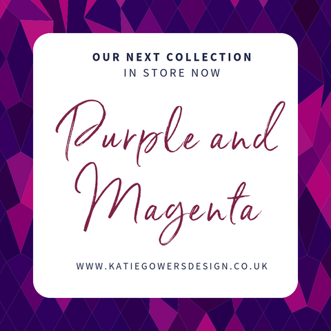 Purple and Magenta Collection in store now