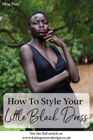 how to style your little black dress blog post