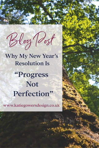 Blog Post New Year Resolution Progress Not Perfection