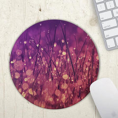 Purple and magenta mouse mat