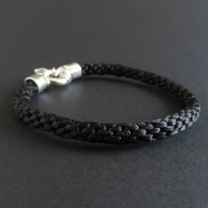 Braided bracelet - Black