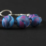 Polymer clay - Pink, white and blue set