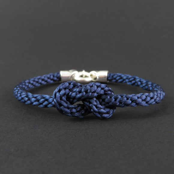 Figure of Eight Knot Bracelet - Dark Blue