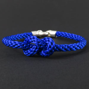 Figure of Eight Knot Bracelet - Bright Blue