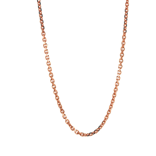 14k Shiny Link Chain Necklace