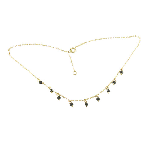 Pearl Drop Choker Necklace