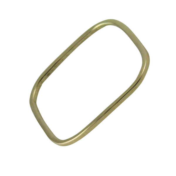 14kt Yellow Gold Square Band Ring