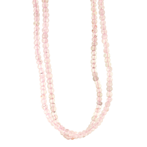 Mini Rose Quartz Layering Necklace