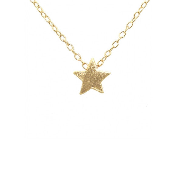 "Gold-Dipped ""Cosmic"" Mini Star Necklace"