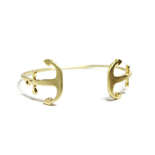 Anchor Cuff Bangle