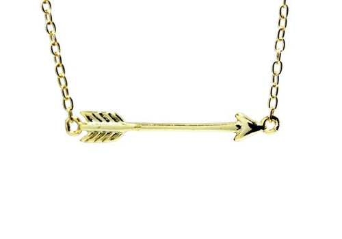 Sterling Silver Mini Arrow Necklace