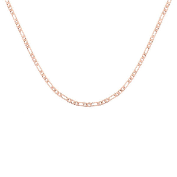 Rosy Figaro Chain Necklace 30 inch