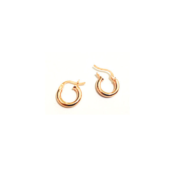 "Rosy ""Mini"" Hoop Earrings"