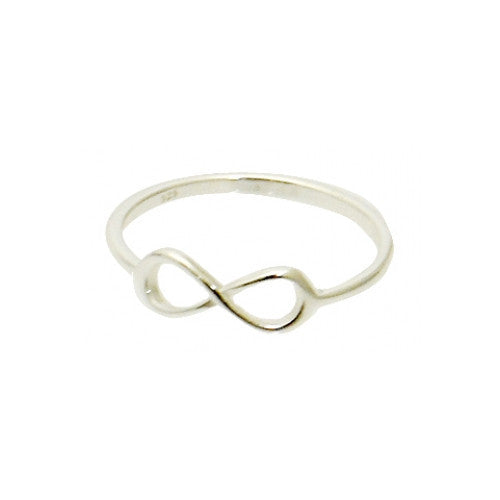 Sterling Silver Thin Infinity Ring