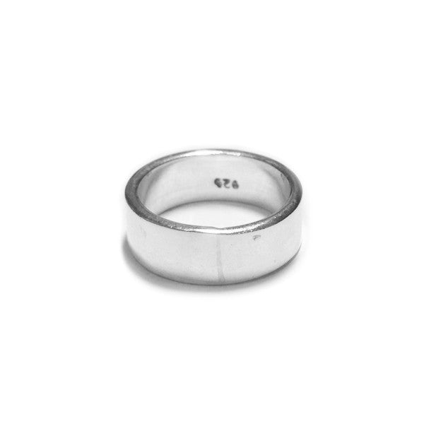 "Sterling Silver Solid Band ""MiDi"" Ring"