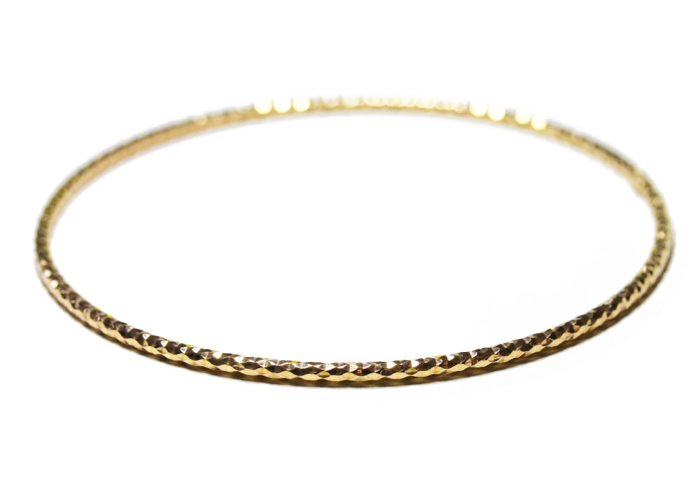 """Galaxy"" Gold-Dipped Bangle Bracelet Slim"