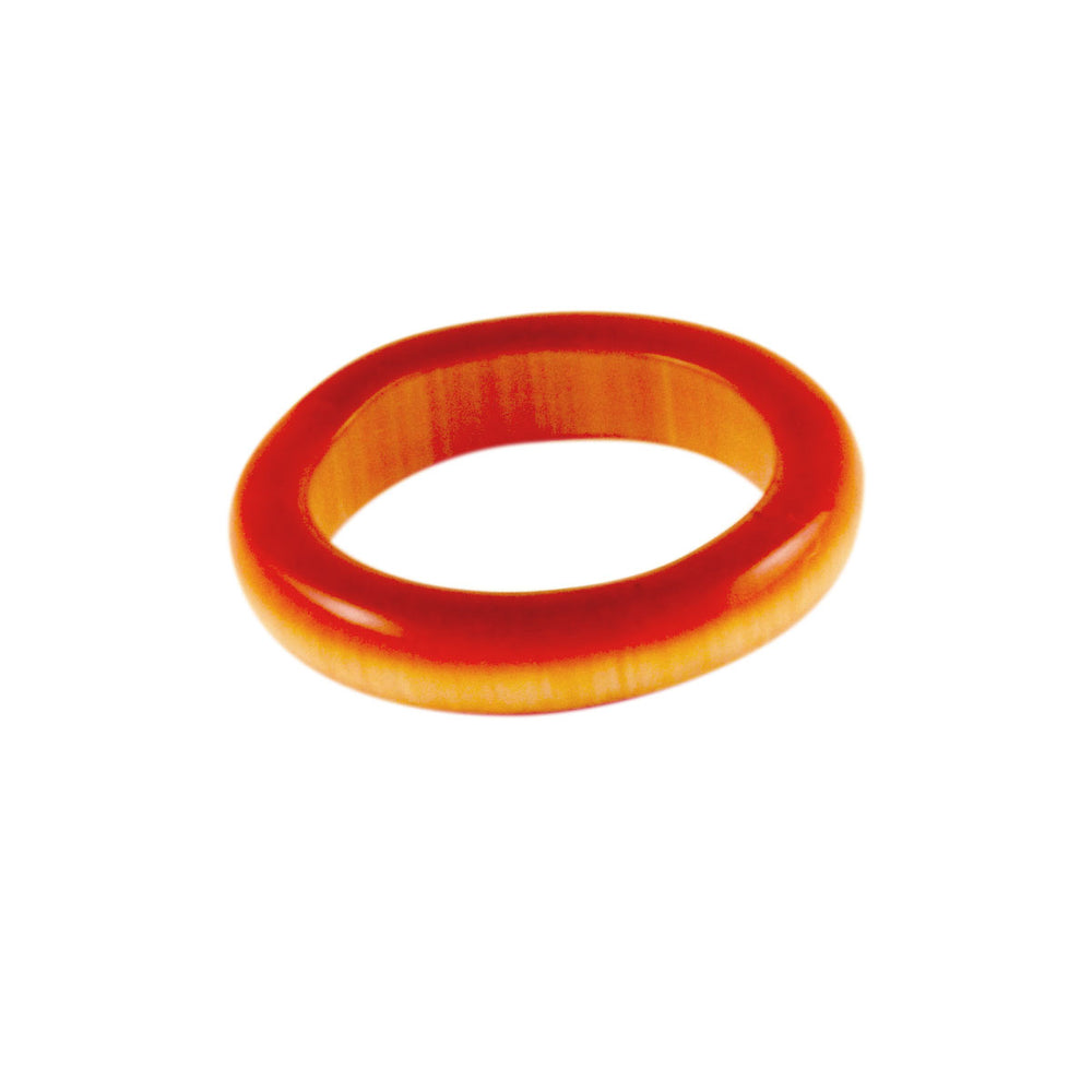 Carnelian Style Band Stone Ring