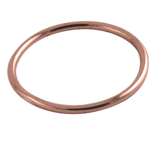 Rose Gold-Dipped Stacking Band Ring