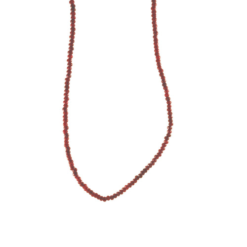Mini Ruby Quartz Necklace