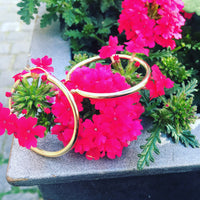 14k Gold Big Hoop Earrings