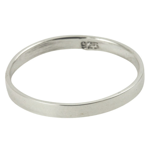 Sterling Silver Simply Band Ring