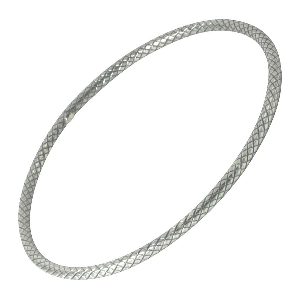 """Chloe"" Sterling Silver Bangle Bracelet Slim"