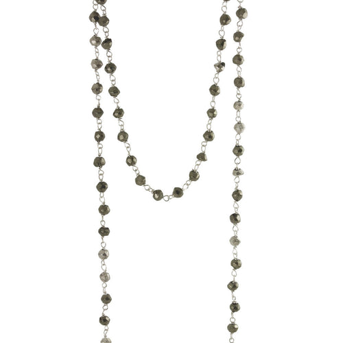 Pyrite Mini Stone Layering Necklace