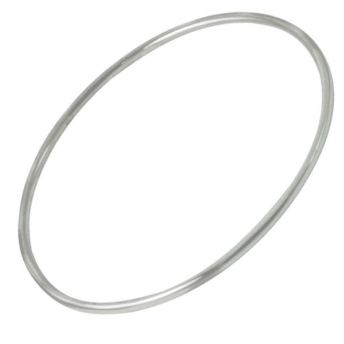 Stackable Slim Sterling Silver Bangle Bracelet