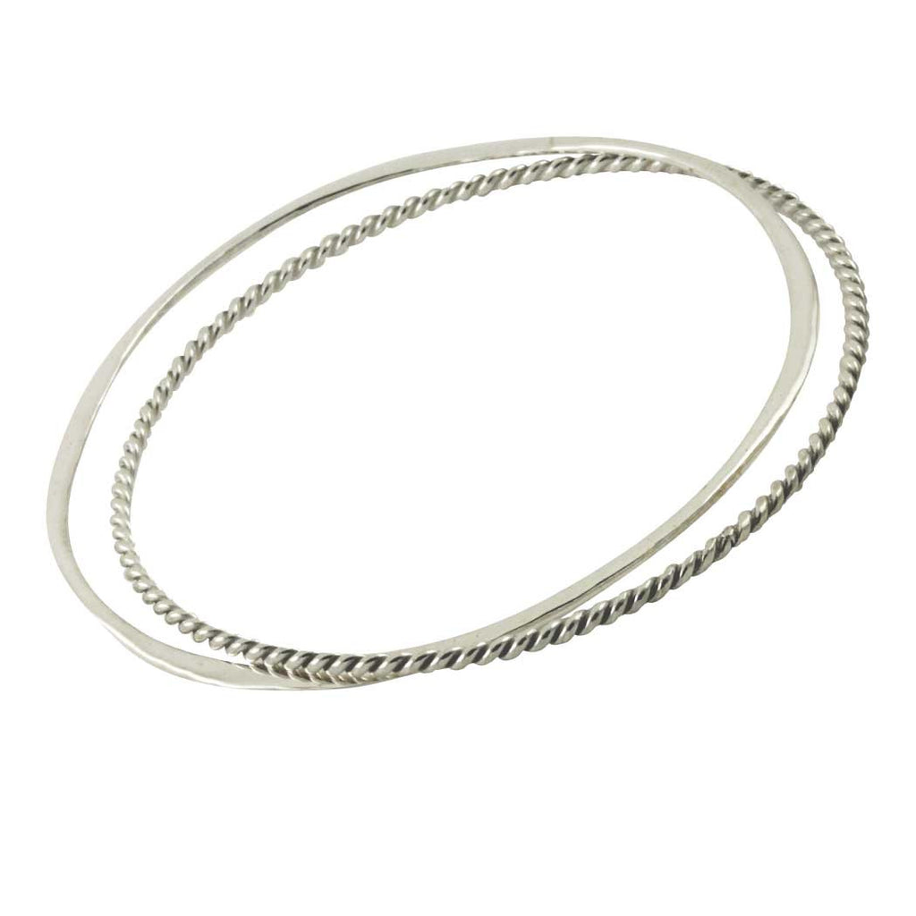 Sterling Silver Bangle Set