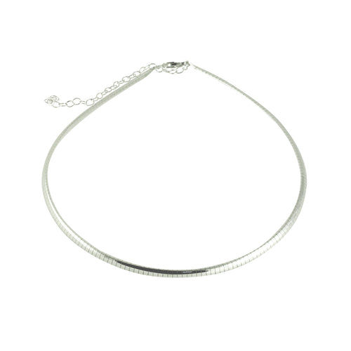 Sterling Belle Choker Necklace
