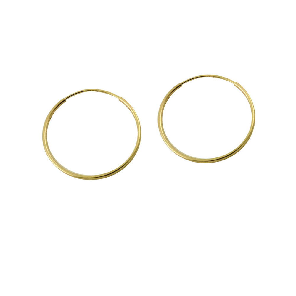 14k Gold Small Hoop Earrings