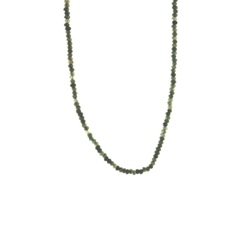 Grey Stone Labradorite Beaded Necklace