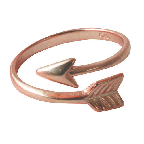Rosy Arrow Ring