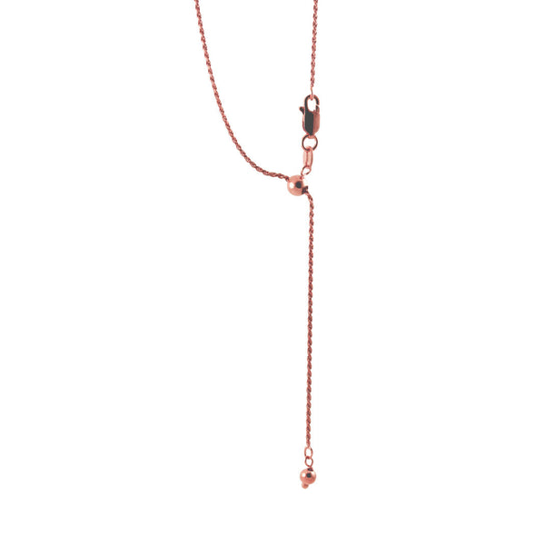 Rosy Adjustable Chain Necklace