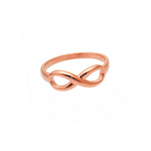 Rosy Infinity Ring